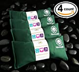 Happy Wraps® Yoga Lavender Eye Pillows – 4 Pieces – Green Cotton