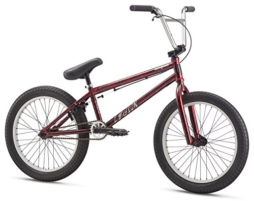 "Mongoose Legion L80 20"" Wheel Freestyle Bike, Maroon, One Size"