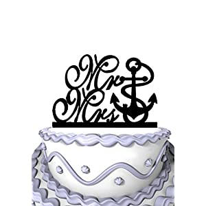 51iUzujPGPL._SS300_ Beach Wedding Cake Toppers & Nautical Cake Toppers