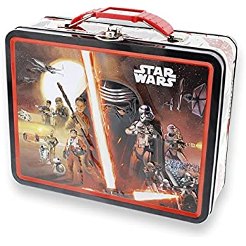 Star Wars Large Embossed Lunch Box - The Force Awakens  sc 1 st  Amazon.com : star wars lunch box - Aboutintivar.Com
