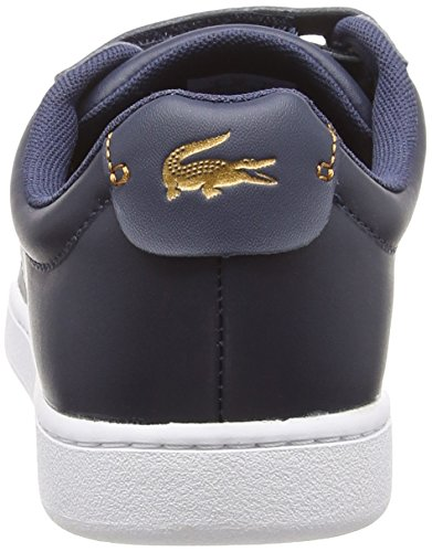 Blu 3181 nvy Evo Donna 092 Carnaby wht Spw Lacoste Strap Sneaker R0faxq