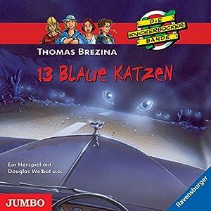 13 blaue Katzen (Die Knickerbocker-Bande 42) Hörspiel