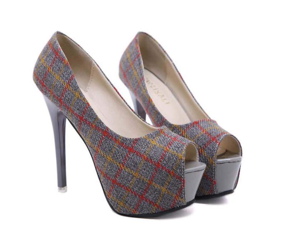 Mamrar 13Cm Stiletto Pumpe Peep Toe High Heels Frauen Sexy 5Cm Plattform Gitter Party Kleid Schuhe OL Court schuhe EU Größe 34-39