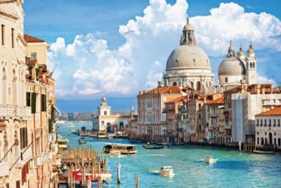 Canal Grande Venice (Tomax Venice with Grand Canal in Italy 1000 Piece Jigsaw Puzzle)