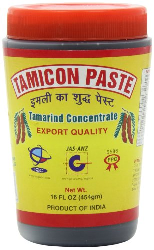 Tamicon Tamarind Paste, 16-Ounce Units (Pack of 6) - Tamicon Tamarind Paste