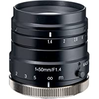 Kowa LM50HC 1 50mm F1.4 Manual Iris C-Mount Lens, 2 Megapixel Rated