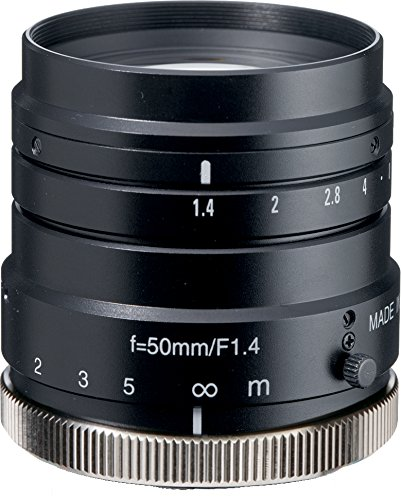 Kowa LM50HC 1'' 50mm F1.4 Manual Iris C-Mount Lens, 2 Megapixel Rated by Kowa