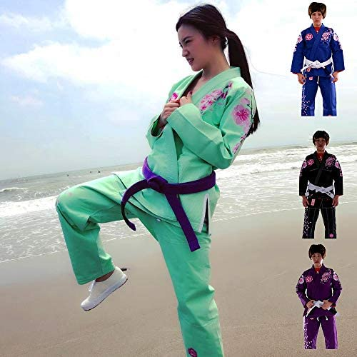 FLOURY Lightweight BJJ Gi,Brazilian Jiu Jitsu Uniform for Men & Women