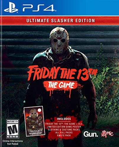 Friday The 13th: The Game Ultimate Slasher Edition - PlayStation 4 (Friday The 13th Game Xbox One X)