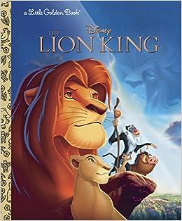 amazon the lion king disney the lion king little golden book