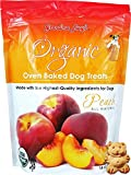 Organic Baked Dog Treats - Peach - 14oz