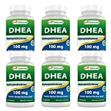 Best Naturals DHEA 100mg Supplement 60 Capsules (Pack of 6)