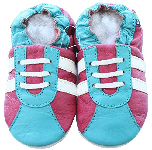 Sneakers Red Teal White S 12-18m