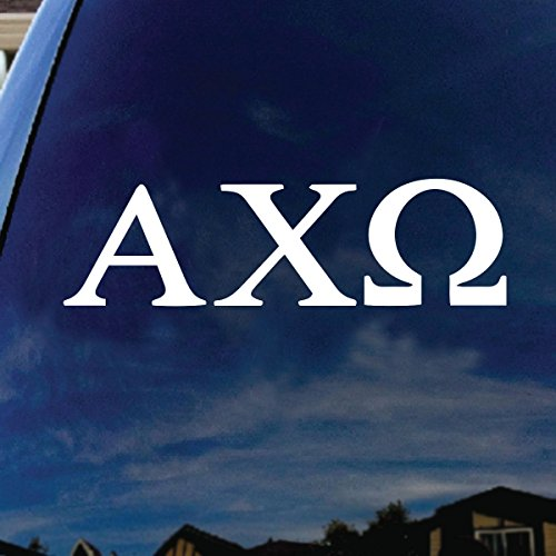 (SoCoolDesign Alpha Chi Omega Sorority Car Window Vinyl Decal Sticker 7