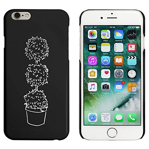 Noir 'Arbre Topiaire' étui / housse pour iPhone 6 & 6s (MC00019965)