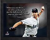 """Randy Johnson Arizona Diamondbacks Pro Quotes Photo (Size: 12"""" x 15"""") Framed"""