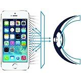 NOV@GO® -Film protection écran en verre trempé avec le Filtre Lumière Bleu pour iPhone 5/5S/SE/5C