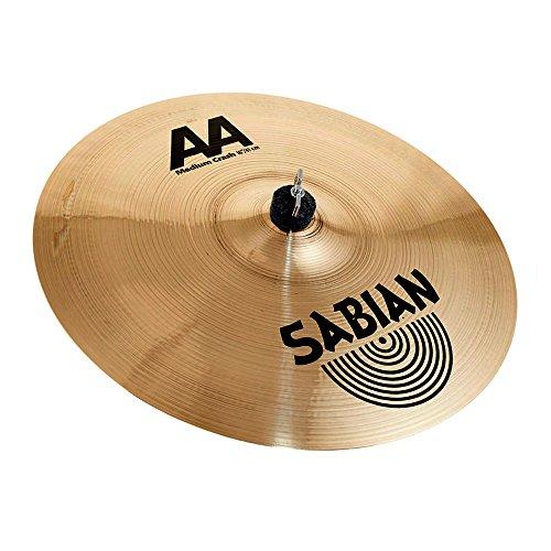 Sabian 21608B 16-Inch AA Medium Crash Cymbal - Brilliant Finish
