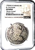 1783 MX 8 Reales Coin From Whale Cluster Clump MO FF El Cazador Shipwreck ,NGC Certified 2067071036 8 Reales Certified NGC