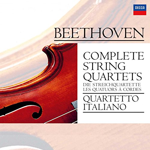 Thing need consider when find beethoven string quartets quartetto italiano?