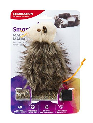SmartyKat Madcap Mania Refillable Catnip Cat Toy (Style Varies) 4