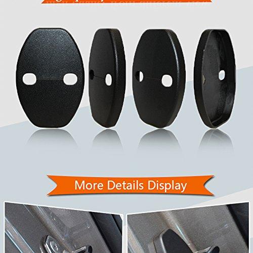 per interni ed esterni copertura di protezione per serratura della portiera Muchkey anticorrosiva