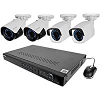 LaView LV-KNT982A42W4 4MP Zoom HD 8 Channel NVR PoE IP Security System