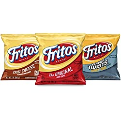 Fritos Corn Chips Variety Pack (Pack of 40)