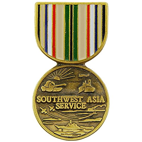 Southwest Asia Campaign Medal Pin Military Collectibles for Men Women