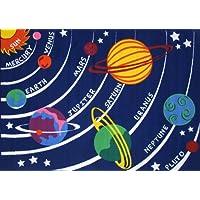 "LA Rug Solar System Rug 19""x29"""