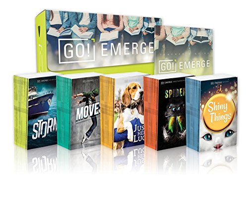 Tween Emergent Reader Libraries: GO! Emerge 1 (Set Contains 3 Each of 20 Titles--60 Books, plus teacher's - Readers Sets Emergent