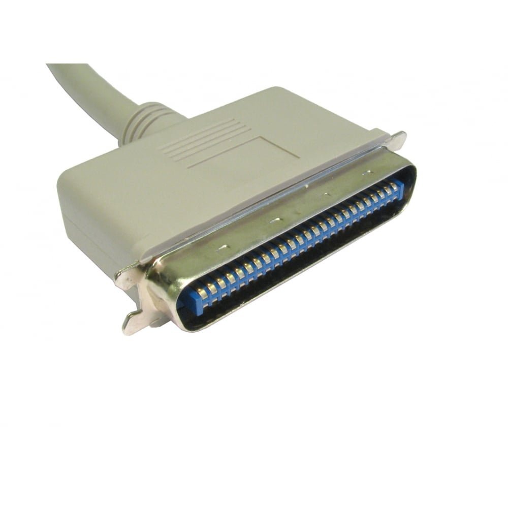 Bluecharge Direct Connecteur SCSI 50/broches Centronics 1 m beige 1 c/âble m/âle vers m/âle