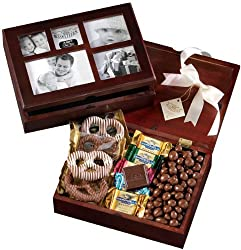 Broadway Basketeers Chocolate Photo Gift Box for Your Valentine by Broadway Basketeers