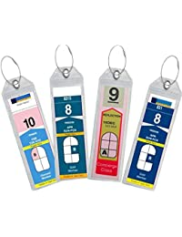 Cruise Luggage Tag Holder Zip Seal & Steel for Royal Caribbean & Celebrity Cruise