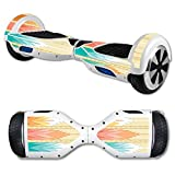 MightySkins Protective Vinyl Skin Decal for Hover Board Self Balancing Scooter mini 2 wheel x1 razor wrap cover sticker Multi Tribal