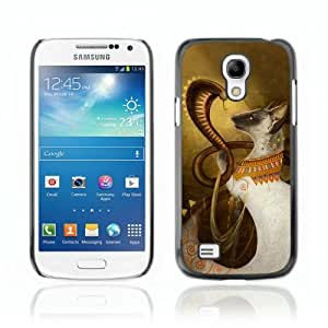 Designer Depo Hard Protection Case for Samsung Galaxy S4 Mini / Cobra & Cat
