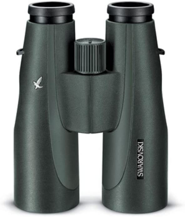 SWAROVSKI Optik 15×56 SLC Series Water Proof Roof Prism Binocular with 4.5 Degree Angle of View, Green
