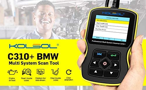 Kolsol C310 Code Reader Mini Multi System Scan Tool Code Scanner ...
