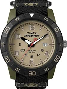 Timex T49833 Mens Expedition Rugged Core Fabric Velcro Strap Watch