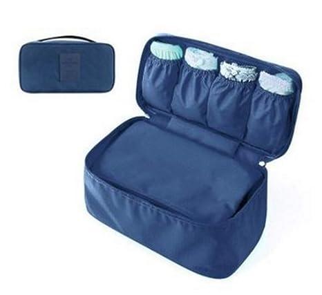 HOMEYU® organizador de ropa interior de viaje ligero, bolsa ...