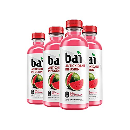 Kula Watermelon, Antioxidant Infused Drinks, 18 Fluid Ounce Bottles, 6 count ()
