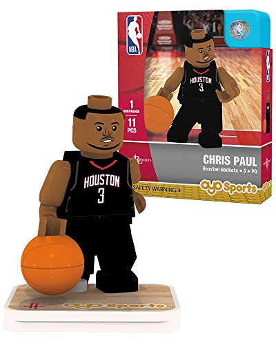 Chris Paul Game - Chris Paul Statement Uniform OYO Houston Rockets Generation 1 G1 Minifigure
