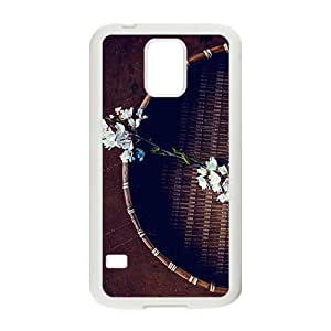 Creative phone case for Samsung Galaxy S5,flowers design