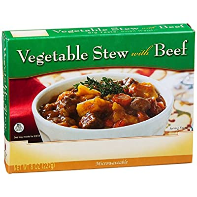 NutriWise - Vegetable Stew with Beef - High Protein Diet Entree (1 box)