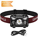 Best Rechargeable Headlamps - Rechargeable Headlamp, 500 Lumens White Cree LED Head Review