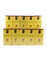 10 Box Of Organo Gold Gourmet Coffee Latte 100 Certified Ganoderma Extract Sealed 20 Sachet Per Box