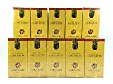 10 Box of Organo Gold Gourmet Coffee Latte 100% Certified Ganoderma Extract Sealed (20 Sachet per Box)