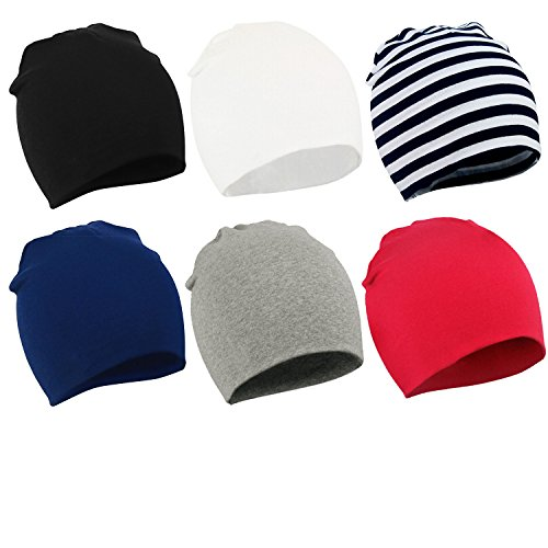 6-packs-of-infant-toddler-baby-unisex-cotton-soft-cute-lovely-newborn-kids-hat-beanies-caps