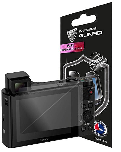 IPG For SONY Hx80 - Hx90 (2 UNITS SCREEN PROTECTORS) with Lifetime Replacement Warranty Invisible Screen Guard - HD Quality/Self-Healing/Bubble -Free By