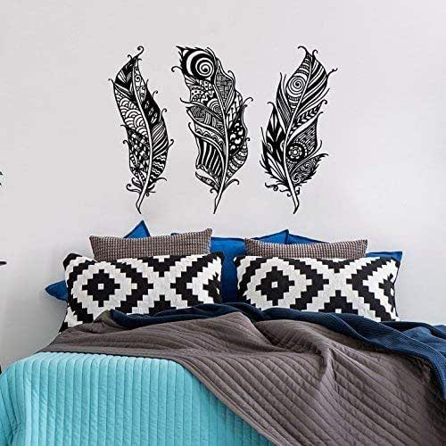 Amazon.com: Feathers Wall Decal Vinyl Sticker Tribal Boho